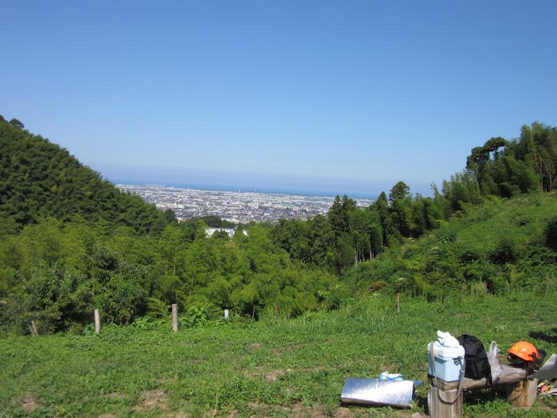 森づくりボランティアキャンペーン 高尾山の森づくりに参加2